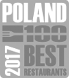 2017 - 100 Best Restaurants Poland